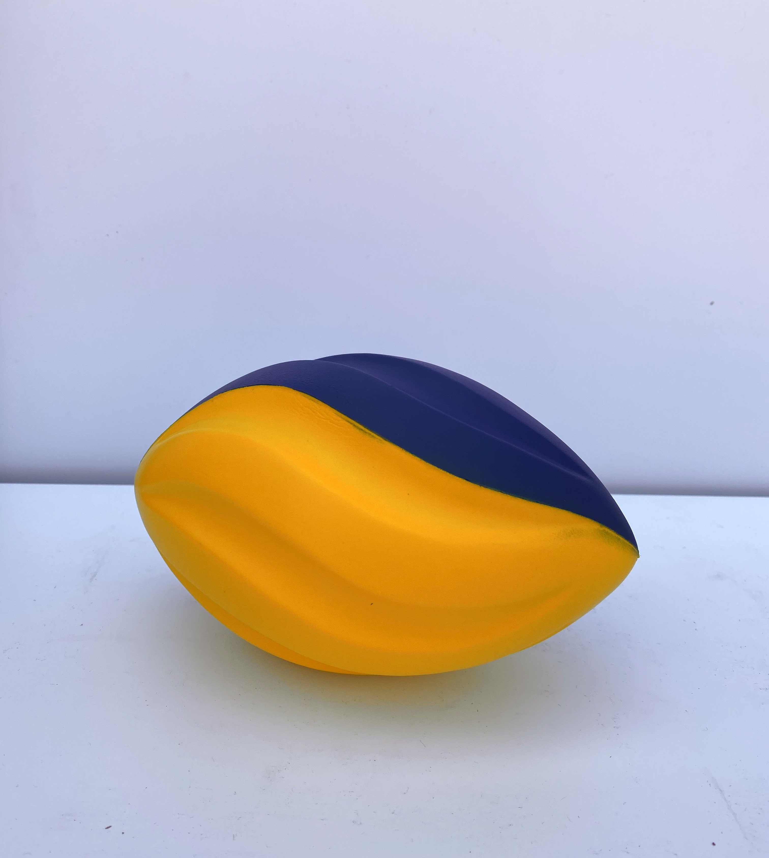Two Toned Foam Spiral Football